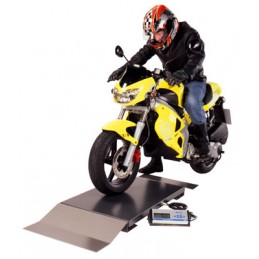 Motorcycle MOT Weighing...