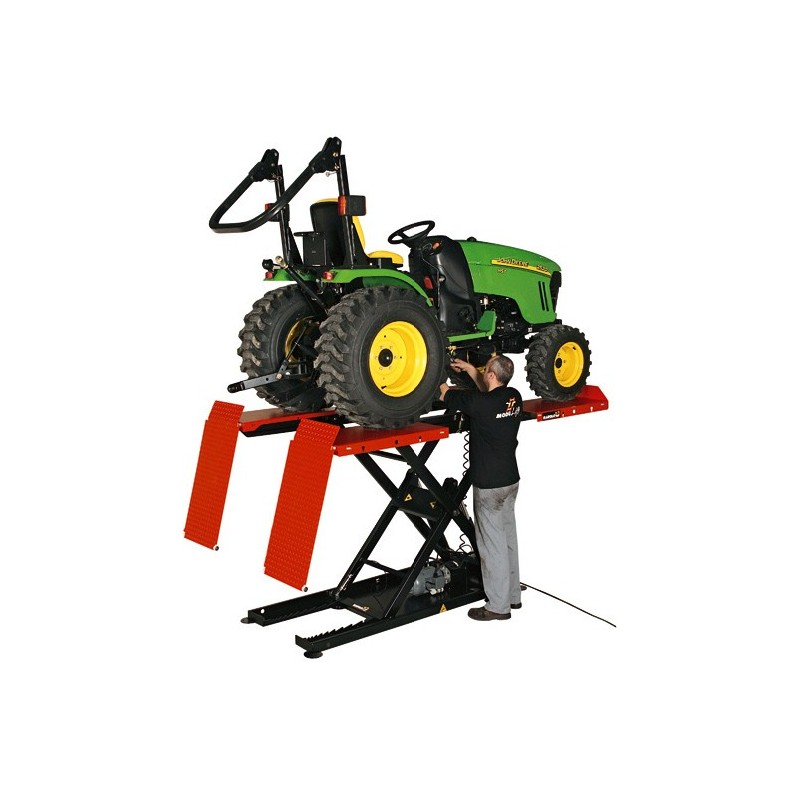 Ride-on mower lift and so much more