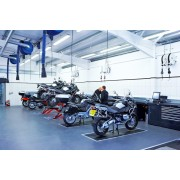 PREMIER BMW DEALER Workshop installation