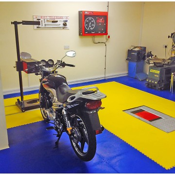 MOTORCYLE MOT BAYS - FOR MORE INFORMATION CALL 01832 741007