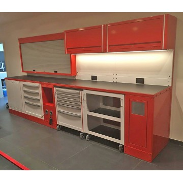 INDIVIDUAL WORKSTATIONS both Modular and Bespoke - FOR MORE INFORMATION 01832 741007